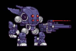 Super Fighting Robot by Kenj