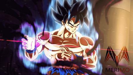 Goku New form HAKAI by merimo-animation