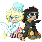 Jack And Harry Chibis by Elligant