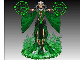 Emerald Sorceress by kellkin