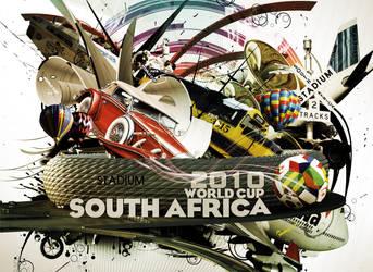 FIFA World Cup 2010 by maktoufo