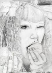 Gutterface by DarkerGirl