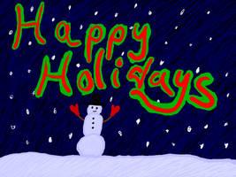 Happy Holidays 2016 (Team Night Saturn) by jackhopeart