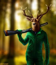 Hunter by KeylesArt