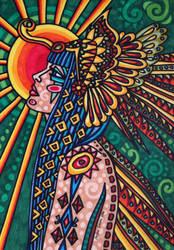 Priestess by anitadunkl