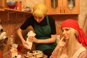 Riza and Winry 1 by Haruhi-tyan