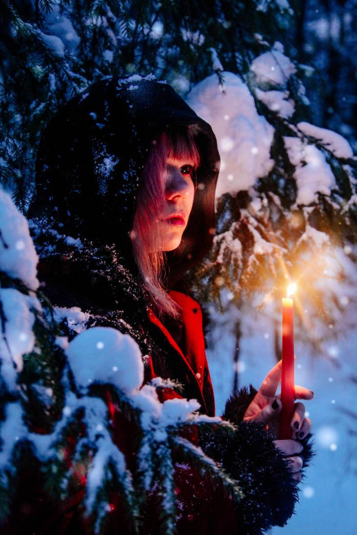 Magic snow by 13-Melissa-Salvatore