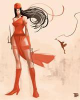 Elektra by ninjaink