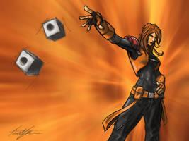 Scarlett and Snake Eyes by ninjaink