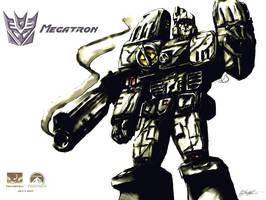 Megatron Wallpaper by ninjaink