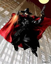 The Shadow by ninjaink