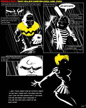 Schulz City: That Yellow S.1 by ninjaink