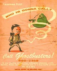SFG Ad Boy: Ghostbusters by ninjaink