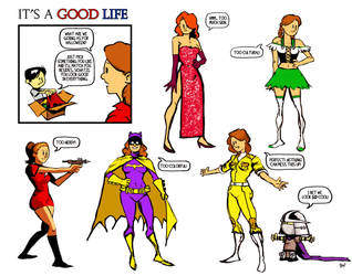 It's a Good Life 10.08.10 by ninjaink
