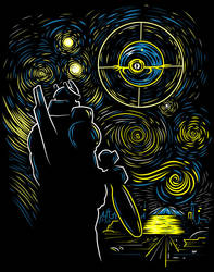 The Cybertrony Night by ninjaink