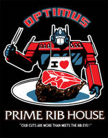 Optimus Prime Rib House by ninjaink