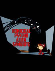 Homicidal Psycho Alien Symbiote by ninjaink