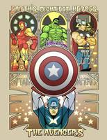Avengers Nouveau by ninjaink