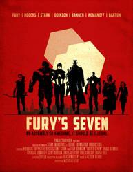 Fury's Seven by ninjaink