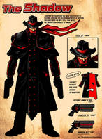The Shadow ReDesign by ninjaink