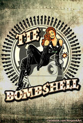 Tie Bombshell by ninjaink
