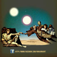Creation of a New Hope by ninjaink