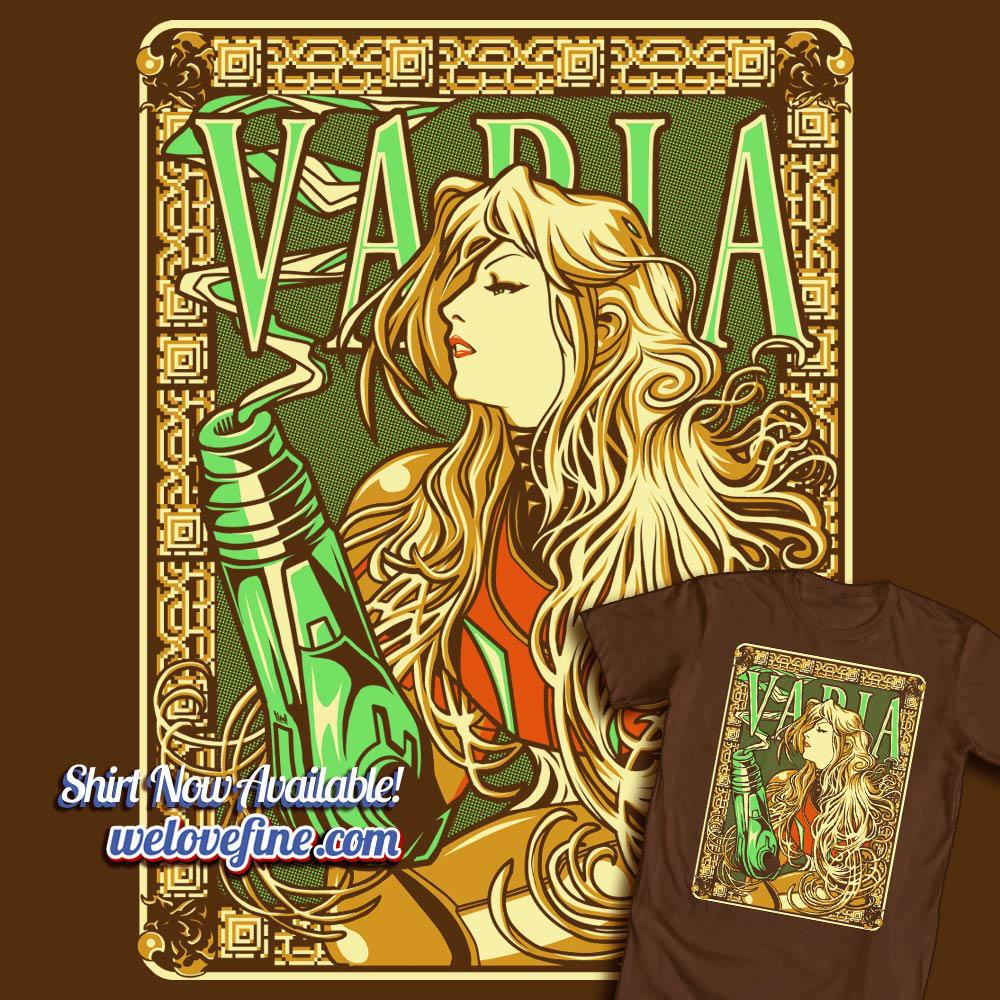 Varia Nouveau by ninjaink
