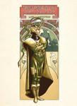 Loki Nouveau by ninjaink