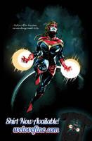 Dexter Soy Captain Marvel by ninjaink