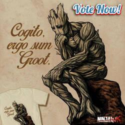 Ergo Sum Groot by ninjaink