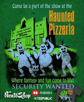 The Haunted Pizzeria by ninjaink