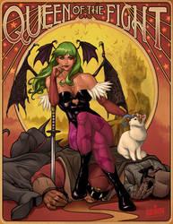 Queen of the FIGHT by ninjaink