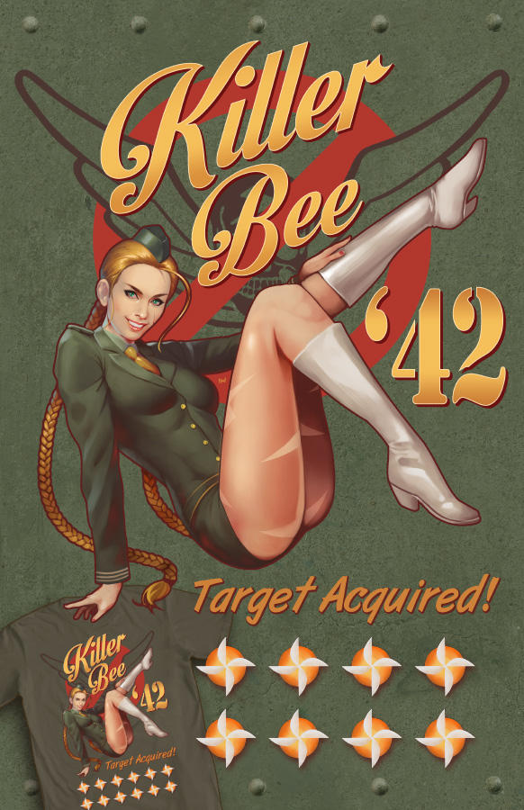 Killer Bee Bombshell by ninjaink