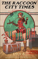 The Raccoon City Times by ninjaink