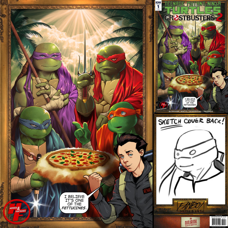 TMNT and Ghostbusters 2 by ninjaink