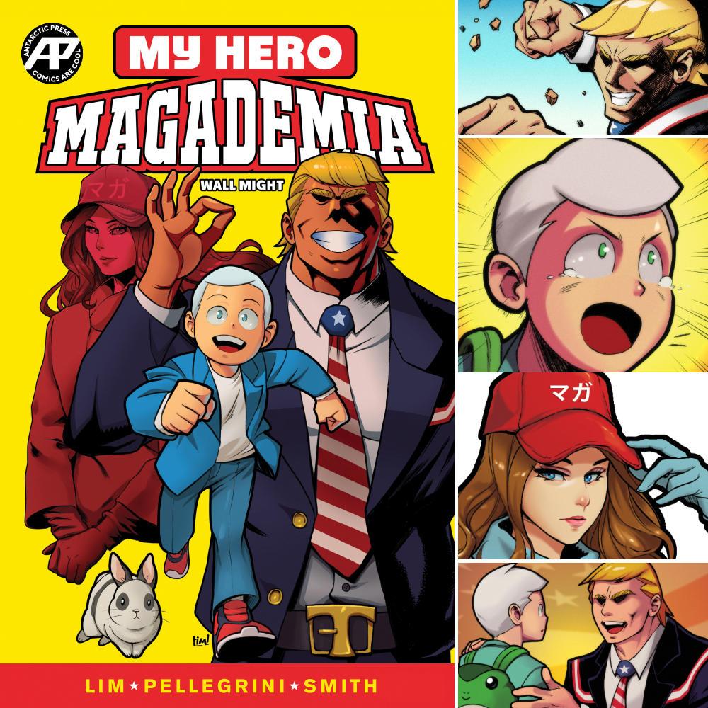 MY HERO MAGADEMIA WALL MIGHT FINAL by ninjaink