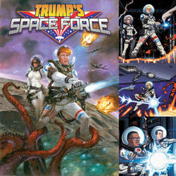 Trump's Space Force by ninjaink