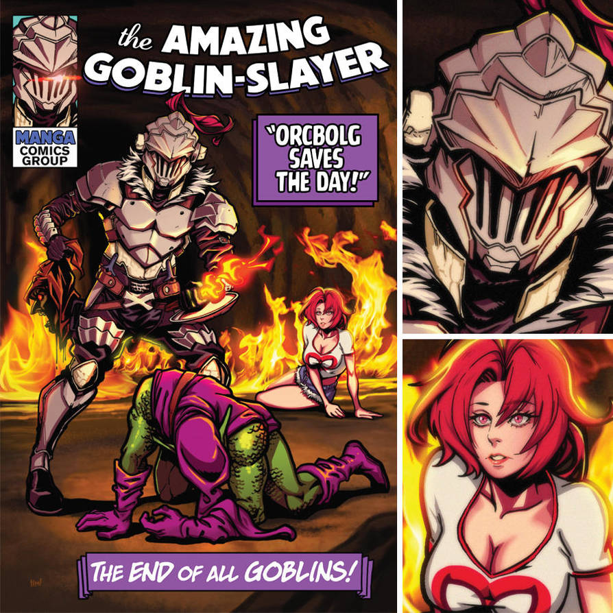 The Amazing Goblin Slayer by ninjaink