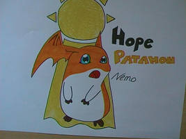 Patamon of Hope by NemoXIV