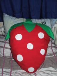 Strawberry Pillow by NemoXIV