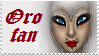 Oro fan stamp by Creedovich