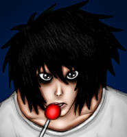 L Lawliet by Creedovich