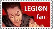 Legion stamp by Creedovich