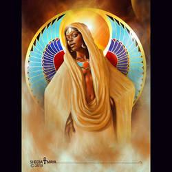 Goddess Rising by sheebamaya