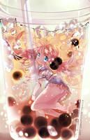 BubbleTea [W.Speedpaint] by Ayasal