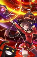 Megumin - Explosion! [Konosuba] by Ayasal