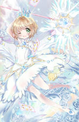 Cardcaptor Sakura: Clear Card w. SpeedPaint by Ayasal