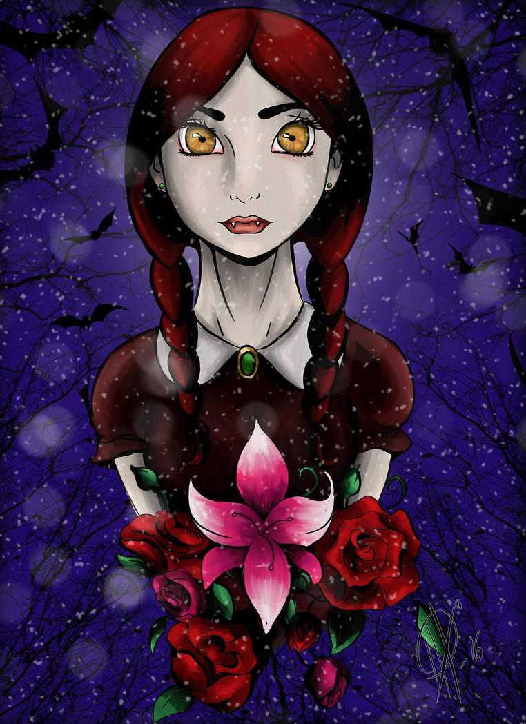 Coralie Edwards Colored by AlexaWayne