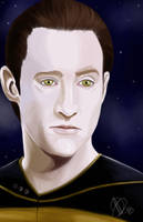 Star Trek The Next Generation -  Mr Data by AlexaWayne