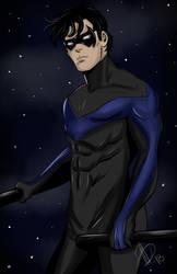 Nightwing Commission by AlexaWayne